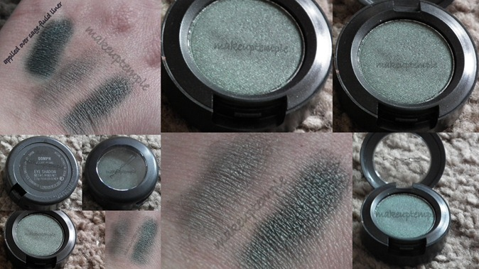 mac eye shadow oomph