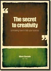 secret to creativity