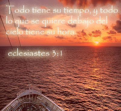 Las hermosas palabras del Señor