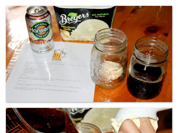 Root Beer Float Science