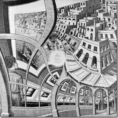 "M.C. Escher's ""Print Gallery"" (c) 2004 The M. C. Escher Company - The Netherlands."