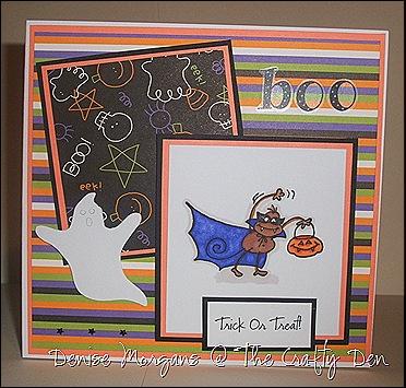 PFP challenge 13 - prussian & pumpkin - halloween theme