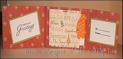 CCC challenge 67 - gift card holder (inside)