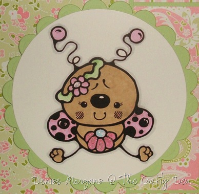 stamptacular #64 - cute as a bug (close up)