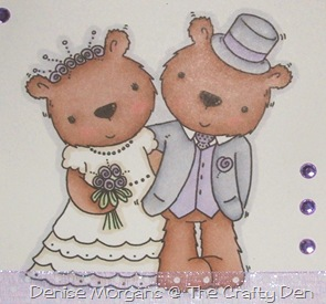 wedding card (close up)