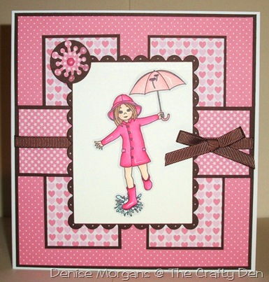 CCC challenge 110 - pink & brown