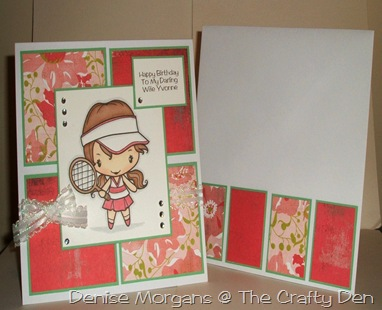 charisma cardz #43 - matching pair (card and envelope)
