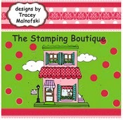 The stamping boutique logo
