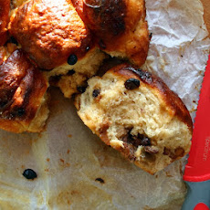 Chocolate And Mincemeat Sticky Buns