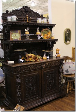 FM carved cabinet