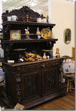 FM carved cabinet