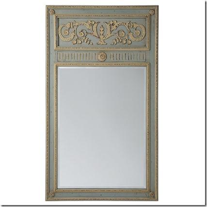 trumeau mirror wisteria