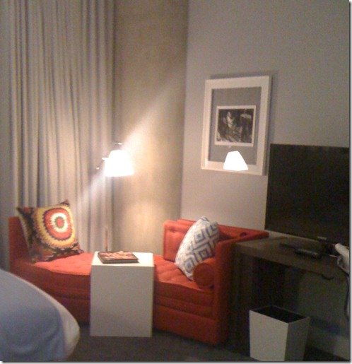 w austin chaise in room