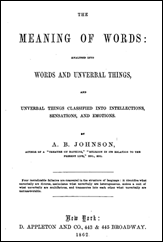 Meaning of Words