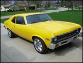 1962 Chevy II Yellow