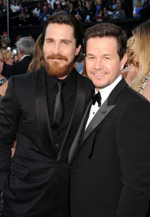 Christian Bale e Mark Wahlberg