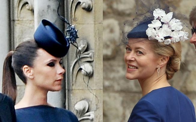 Victoria Beckham  e Helen Taylor