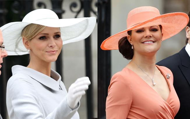 Miss Charlene Wittstock  e Princesa Victoria da Suécia