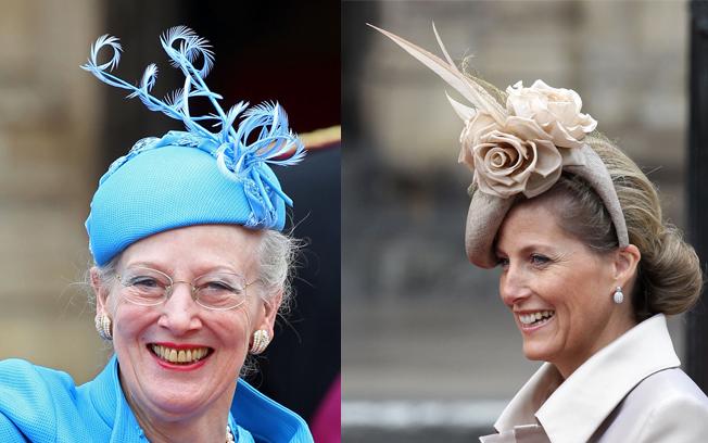 Rainha da Dinamarca Margrethe II e Condessa de Wessex Sophie