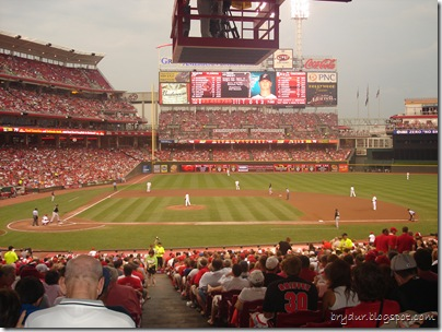 The Reds game