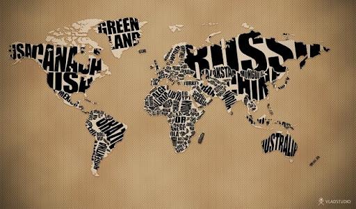mapa del mundo paises. Este mapa do mundo mostra o