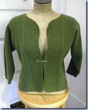 tutorial for refashioned sweater