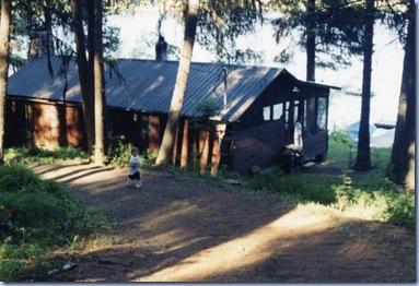 2001-06-28 #0587 - Halle at Placid Lake cabin