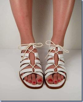 Vintage sandals on Etsy