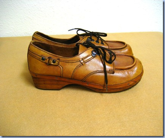 vintage leather loafers