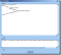 XML Flattener