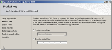 SQL Server License Key Change Edition Upgrade 2