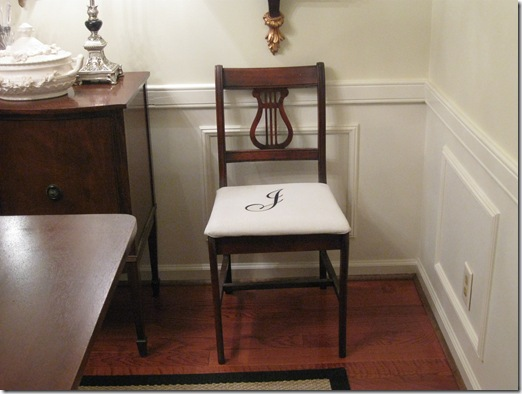 monogrammed dining room chairs 028