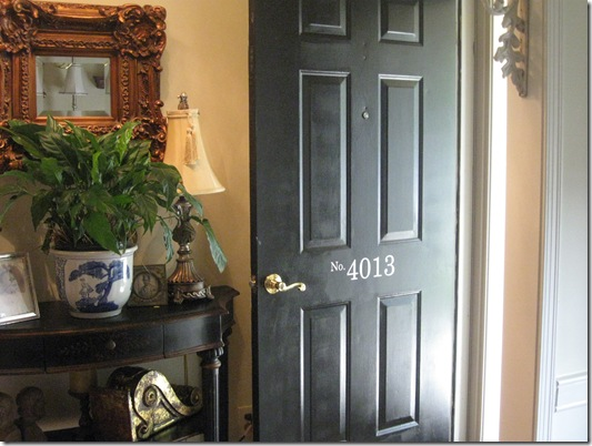 front door numbers 005