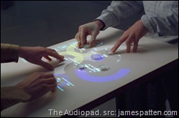 The Audiopad: Create and perform music on your table