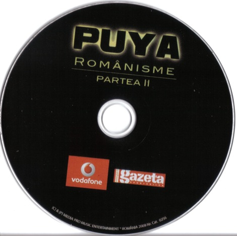 Puya - Romanisme II (cd)