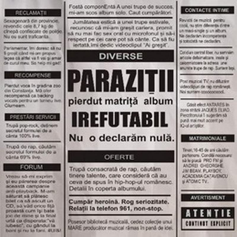 Parazitii – Irefutabil (2002)