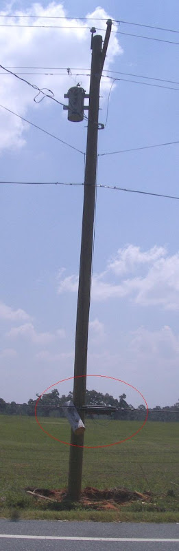 Redneck Power Pole