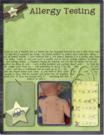 John's scrapbook - year 1 - Page 040