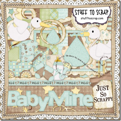 Baby Mine Boy Kit Preview