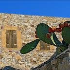 Eski Datça da restore edilmiş evlerden bir ayrıntı