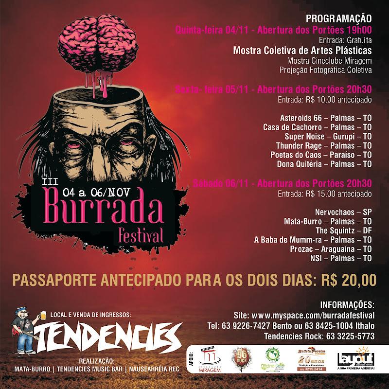 III Burrada Festival 04 a 06/Nov