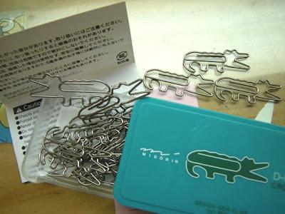 鱷魚迴紋針