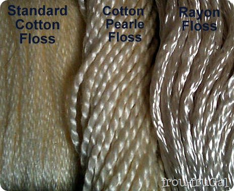 Cotton Pearle Rayone Embroidery Floss Sheens