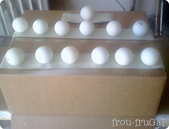 How to Spray Paint Ping Pong Balls