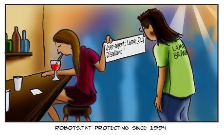Robots.txt comix