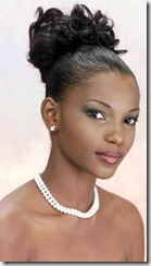 Agbani Darego from Nigeria Miss World 2001