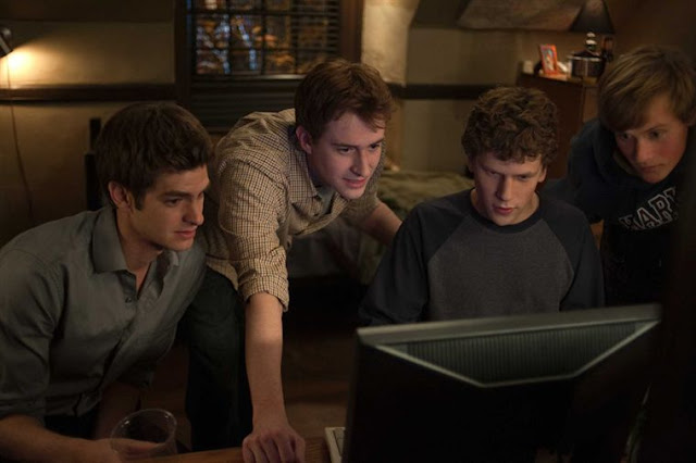 "Image du film ""The Social Network"" de David Fincher (2010)"