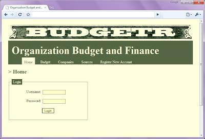 Organization budget and finance