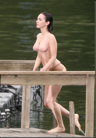 EXCLUSIVE:  Megan Fox Gets Naked on Jennifers Body in BC (USA and OZ only)