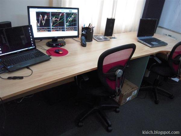 8ft Office Desk $250.00 (few mths old)